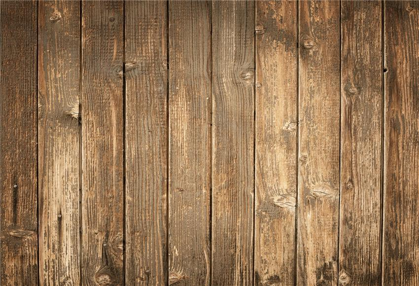 Brown Wooden Anti-Wrinkle Photo Backdrop for Photographers