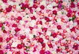 Rode Flowers Wall Photography Backdrop for Wedding Birthday