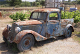 Rustic Rust Old Car Vintage Photography Backdrops