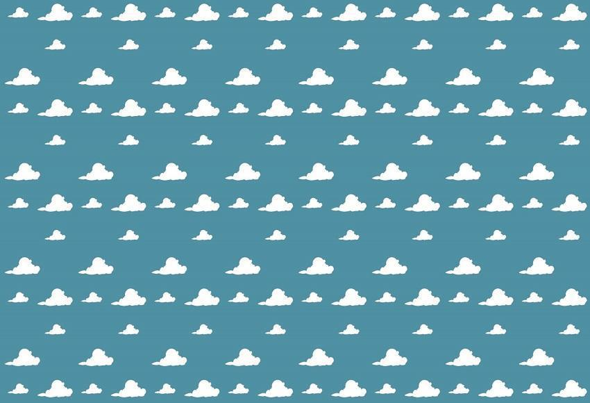 Baby Show Blue Sky White Cloud Photo Backdrop