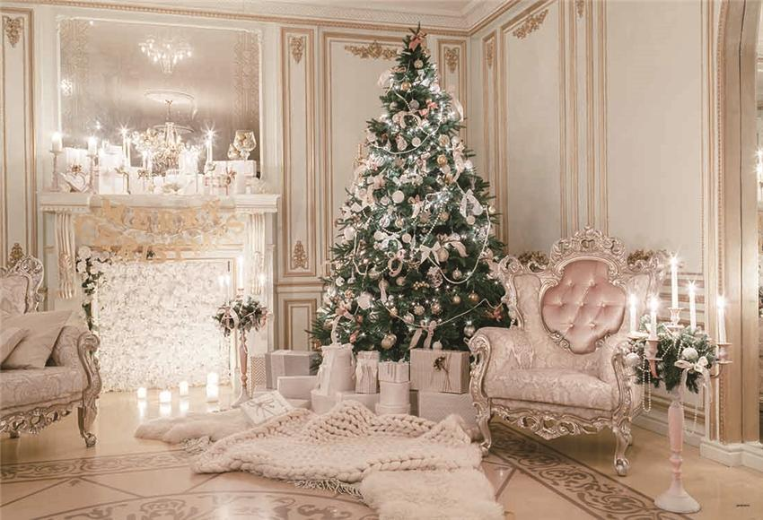 Luxurious Christmas Photography Backdrop for Photo
