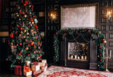 Luxurious Christmas Tree Backdrop for Photography Prop