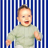 Navy Blue and White Stripes Photo Studio Backdrops