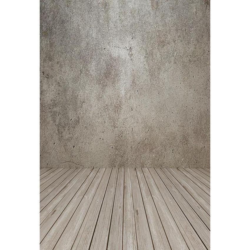 Grunge Wall Wood Floor Texture Backdrop For Studio Photo