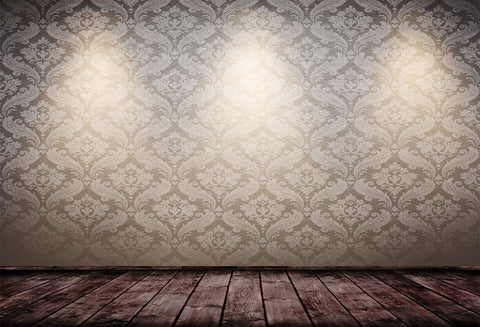 Brown Wood Floor Abstract Texture Backdrop for Wedding