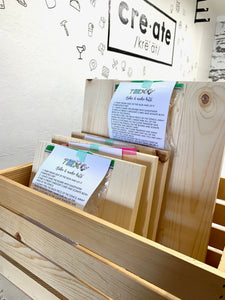- Wood Pallet Sign - Kids Size | Take and Make Kit