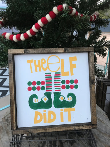The Elf Did It