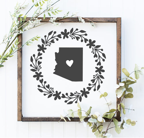 Arizona Wreath