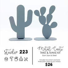 Metal Cacti (set of 2) | Take and Make Kit