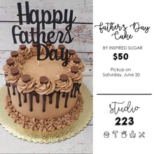A Father's Day Cake from Inspired Sugar