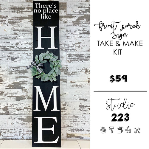 - Front Porch Sign | Take and Make Kit