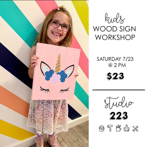 May 29 at 2pm | Kids Sign Workshop