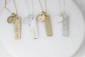 April 30 at 6pm | Personalized Necklace Workshop
