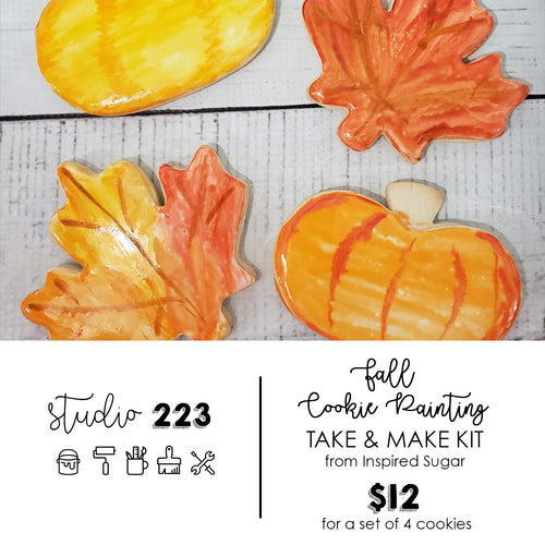 Cookie Painting - Fall (set of 4) | Take and Make Kit