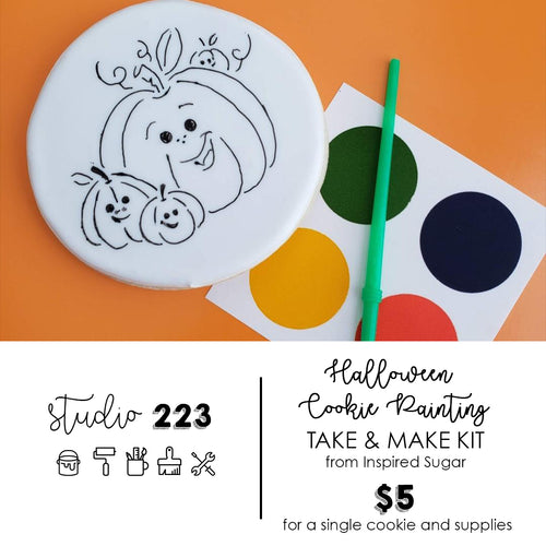 Cookie Painting (Halloween) | Take and Make Kit