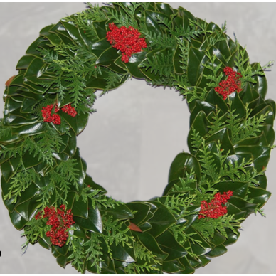 Holiday Deluxe Wreaths