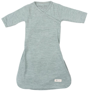 Cocooi Merino Baby Gown, for Newborn Babies