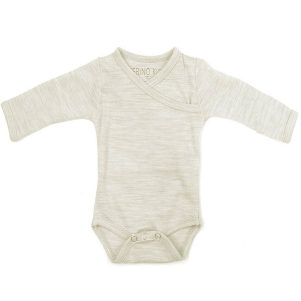 Merino Kids Long-Sleeve Bodysuit