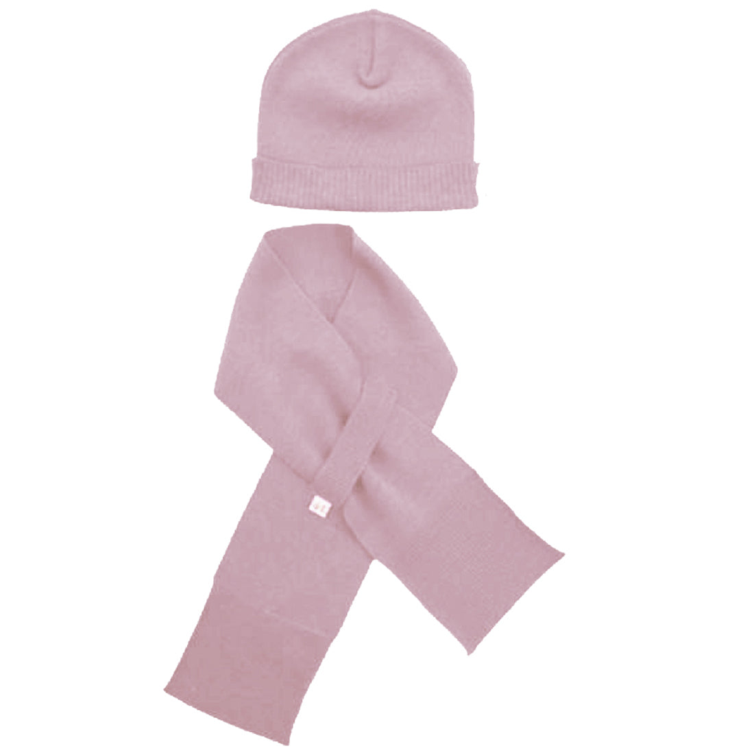 Merino Kids Hat and Scarf Set for Babies and Toddlers