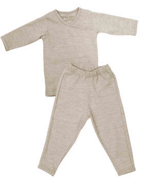 Merino Kids Long-Sleeve Thermal Set