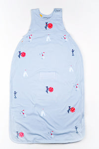 Merino Kids Organic Cotton, Circus Print, Baby Sleep Bag, for Toddlers 2-4 Years