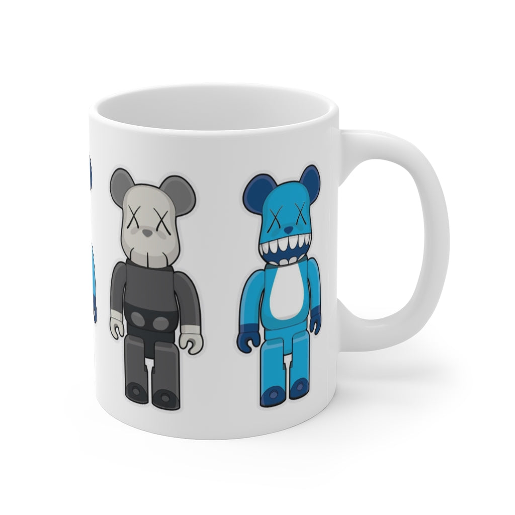 Bear Brick Cartoon Mug