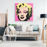 Pink Marilyn Canvas Print