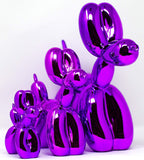 Koons Balloon Dog Sculpture