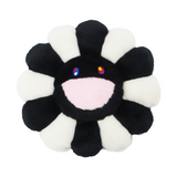 Black White Happy Pillow