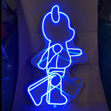 Walking Bear Neon Light