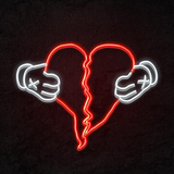 808s & Heartbreak Neon Light