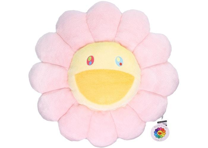 Happy Flower Pillow - Pink