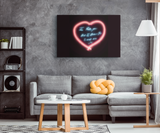Neon Sign Canvas Print