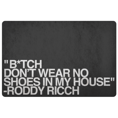 Roddy Ricch Door Mat