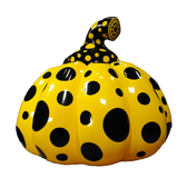 Kusama Pumpkin Sculpture