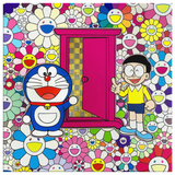 Doraemon Field of Flowers By Murakami