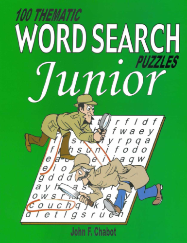 100 Thematic Word Search Puzzles Junior- latest product from 4aKid