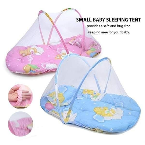 Protect your small baby from insects and give her a good night sleep! The Small Baby Sleep Tents provide a safe and bug-free sleeping area for your baby: https://bit.ly/2quHCGW