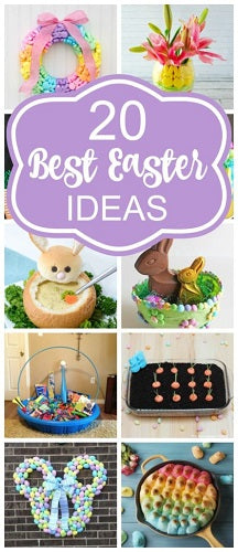 20 Best Easter Ideas - Pretty My Party - Party Ideas - 4aKid Blog