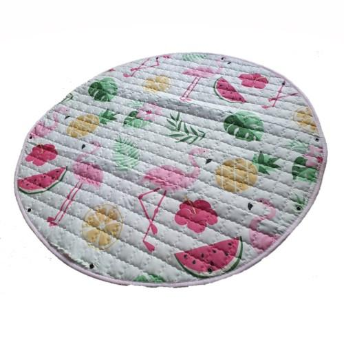 2 in 1 Play Mat & Toy Storage Bag 110cm - Assorted Designs- latest product from 4aKid