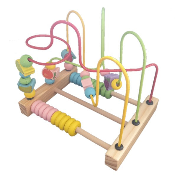 2 in 1 Wooden Activity Beads Abacus & Maze- Latest product from 4aKid - 4aKid Blog