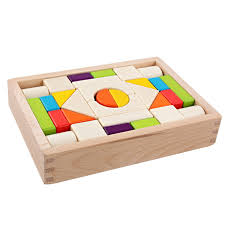 30pc Wooden Color Blocks Set- Latest product from 4aKid - 4aKid Blog
