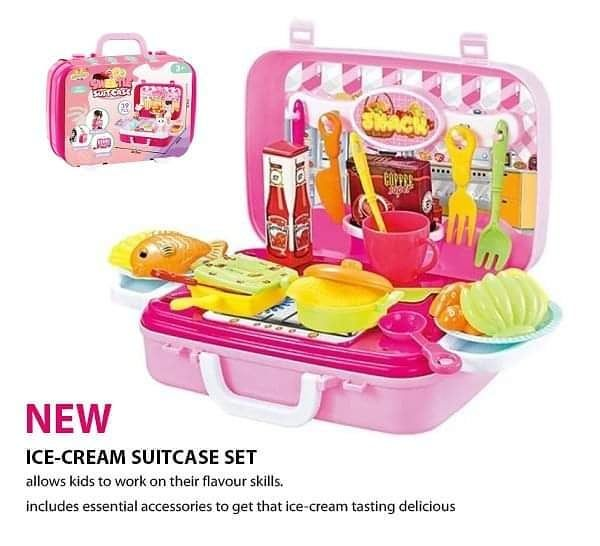 With this complete Pink Chef Suitcase Set, you and your kids will be in for hours of fun! This set includes essential accessories to get that meal tasting delicious... every time: https://bit.ly/338X5JX