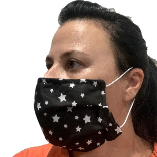Adult Fabric Mask - Navy- latest product from 4aKid
