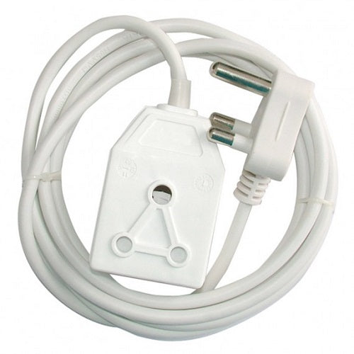 Alphacell Extension Cord 16A 5m - White- Latest product from 4aKid - 4aKid Blog