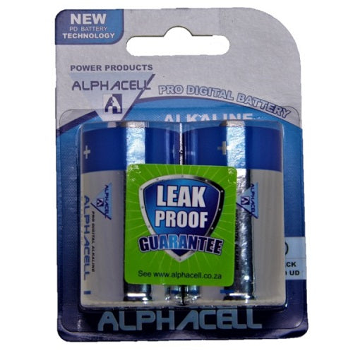 Pack of 3 Alphacell Pro Alkaline Digital Batteries - Size D 2pc- Latest product from 4aKid - 4aKid Blog