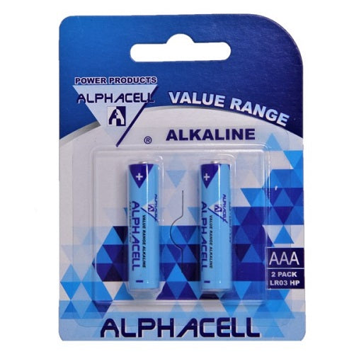 Alphacell Value Battery - Size AAA 2pc- Latest product from 4aKid - 4aKid Blog