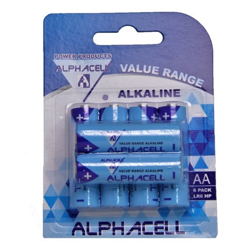 Alphacell Value Battery - Size AA 6pc- Latest product from 4aKid - 4aKid Blog