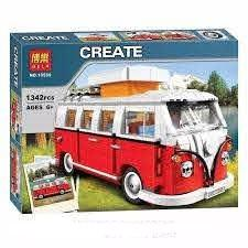 Building Blocks - Create Combi Camper 1342pc- Latest product from 4aKid