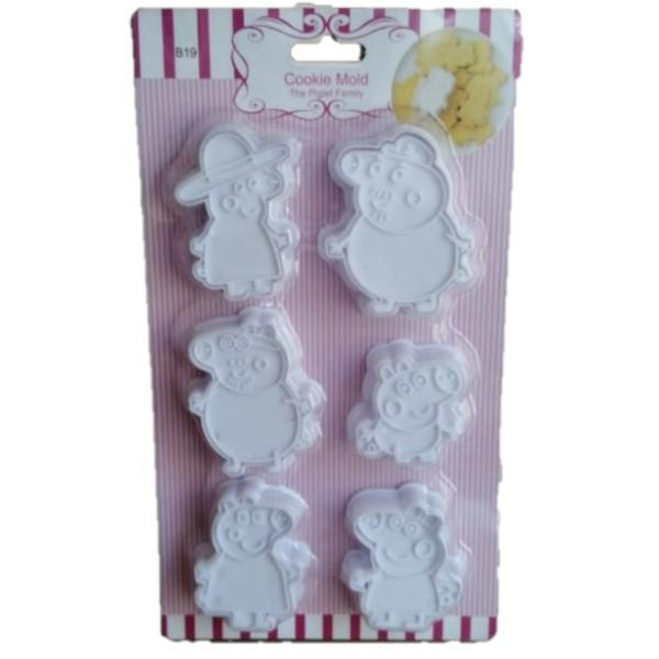 Cookie Cutter Set - Peppa Pig- Latest product from 4aKid
